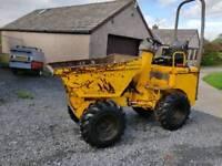 Terex 1 ton high lift dumper