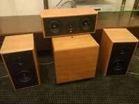 Kef crestas 2 fronts ,centre and active sub.