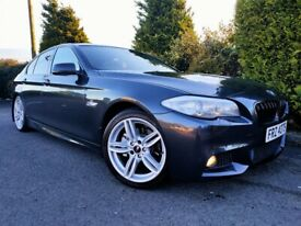 2011 BMW 520D M SPORT 8 SPEED AUTO! LIKE 530D A4 A6 XF E220 SUPERB PASSAT