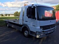 Mercedes-Benz Atego recovery truck tilt slide spec lift 2005 model AUTO MODEL