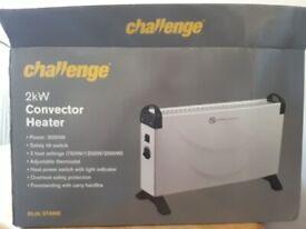 2x challenge storage heaters