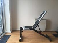 Maximuscle gym weight bench