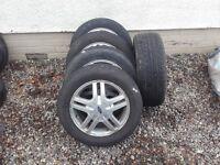 4 x Ford Focus MK1 15 inch Alloy Wheels