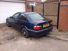 AUTOMATIC - 2004 BMW 318i AUTO DOOR SDALOON - FSH - MOT'D - STARTS & DRIVES WELL - GREAT FAMILY CAR