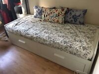Ikea single day bed that extends into double
