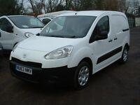 PARTNER 2013 63-REG 1.6HDI ONE OWNER FSH 7-STAMPS DRIVES SUPERB £4395 NO VAT