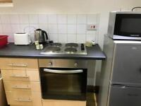 All bills included. Great area. Fully furnished 1 bed apt