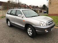 2006 Hyundai Santa Fe 2.0 CRTD CDX Station Wagon 5dr Manual @07445775115