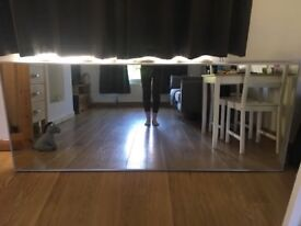 Lovely large wall mirror.