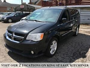 2014 Dodge Grand Caravan Crew | LEATHER | CAMERA | REAR AIR |