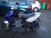 Keeway fact 125 for sale drives spot on motd until august looking for £400 Ono