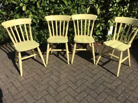 Kitchen chairs solid wood