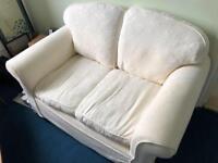 1 sofa and 1 sofa bed