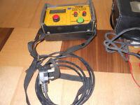 Heavy duty rcd tester& Earth loop impedance tester