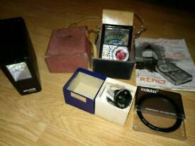 Vintage camera items £5. The lot