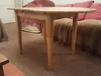 Rubberwood Extendable Table - Nice Solid Table
