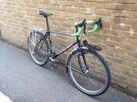 Touring Bicycle - shimano 105 equipped Diamond Back tourer/ adventure bike