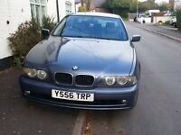 BMW 525 automatic petrol saloon for sale. 112000 miles.