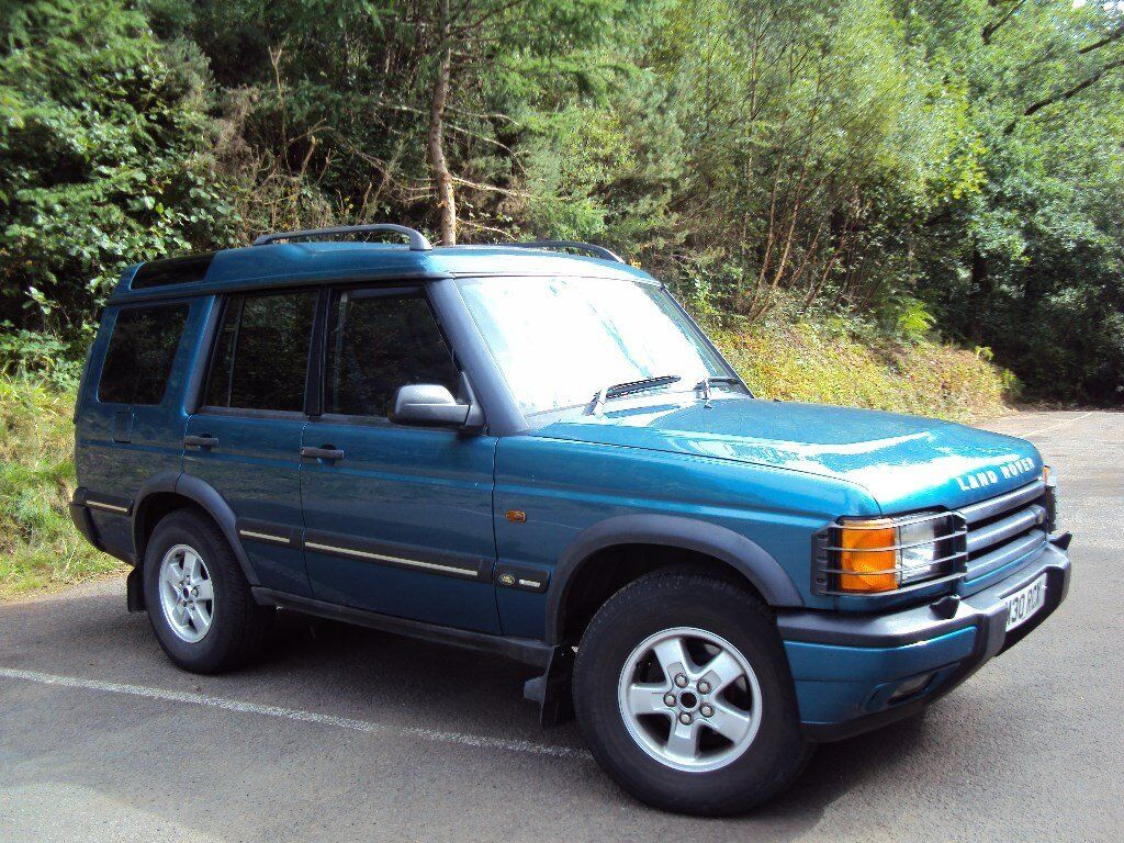 Land Rover Discovery TD5 GS 1999 blue manual 7 seater