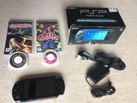 Sony PSP with 2 Games - Need For Speed Carbon & Crush