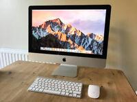 iMac 21.5-inch Late 2012 2.7Ghz Intel Core i5