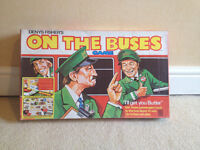 Classic Vintage Board Games - Doctor Who, Masterpiece, On the Buses - Retro 1970's