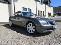 Chrysler Crossfire, Low Mileage and Low Tax Bracket in Rare Gun Metal Grey