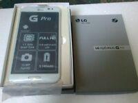 "LG Optimus G Pro F240 - 32GB 5.5"" - 13MP 4G LTE 32GB, 3G Smartphone - White (SIM FREE) unlocked"