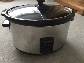 Slow Cooker by Morphy Richards 6.0 litre capacity