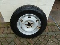 Michelin 195/75R16 Tyre on wheel new never used was the spare Offers invited