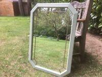 Hand painted art deco style mirror in bramwell green