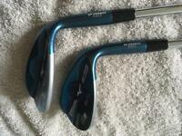 Mizuno S5 blue wedges 50 60 degree