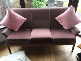 Parker knoll suite, sofa and two chairs. In perfect condition. Excellent quality.