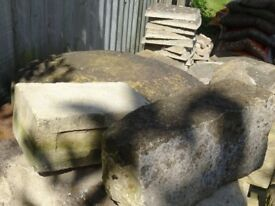 MAKE ME AN OFFER - Assorted bricks, blocks, stone, patio slabs - going very cheap