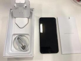 128GB unlocked JET BLACK iPhone 7 Plus