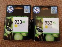 Genuine HP933XL Yellow Printer Cartridges
