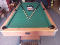 6ft x 4 ft pool table