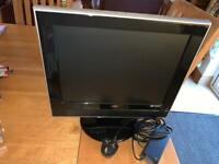 15inch tv and DVD player