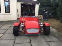 Locost GTS W7DE wide body kit car
