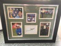 Signed Photo Display