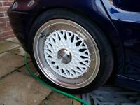 "Lenso BSX 16"" 4x100 Alloy Wheels (VW, Polo)"