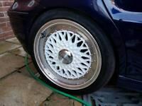 "Lenso BSX 16"" 4x100 Alloy Wheels (VW, Polo)"