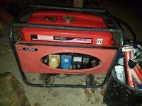 Generator 240 110 volts key start