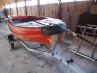 12ft fibre glass project boat