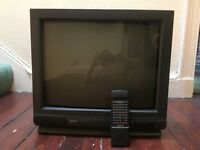 Sanyo TV - full working order - with remote - SCART and aerial connections