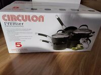 BRAND NEW CIRCULON Premier Professional Pan Set