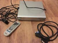 Matsui DVD225 Single Scart DVD Player - Silver (camper/Bedroom)
