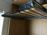 IKEA pax wardrobe pull out trouser hanger