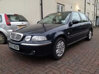 2001 Rover 45 automatic petrol very low mileage