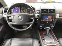 LHD LEFT HAND DRIVE VOLKSWAGEN TOUAREG 3.0 V6 DIESEL AUTOMATIC GREY A/C CLEAN FULL BLACK LEATHER